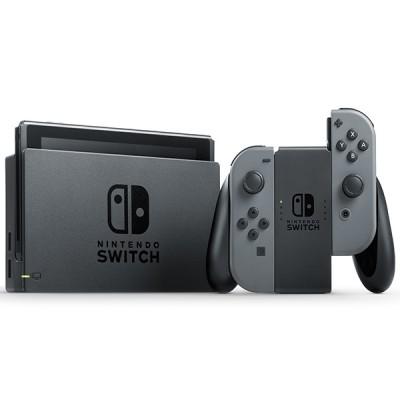 Игровая приставка Nintendo Switch rev.2 32 ГБ, серый, Animal Crossing: New Horizons