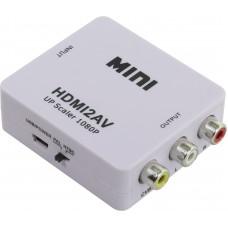 Переходник HDMI to AV Converter (HDMI in, RCA out)