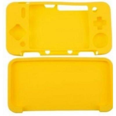 Силиконовый чехол для NEW Nintendo 2DS XL Жёлтый