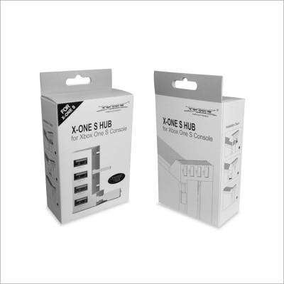 Переходник USB Hub USB 4 White Dobe (TYX-795S) (Xbox One S)