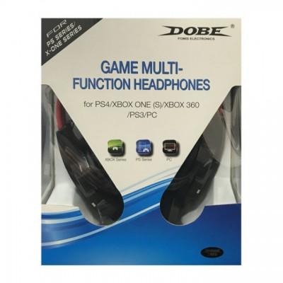 Гарнитура проводная Game Multi-Function Headphones 5 в 1 Dobe (TY-836)  (PS3/PS4/Xbox360/XboxOne/PC)
