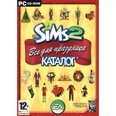 The Sims 2. Все для праздника. Каталог (русская версия) (DVD Box) (PC)