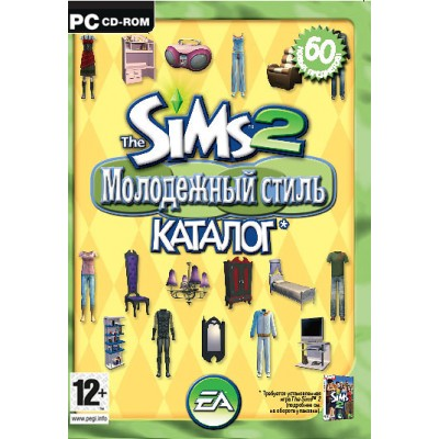 The Sims 2. Молодежный стиль. Каталог (русская версия) (DVD Box) (PC)