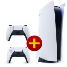 Игровая консоль Sony PlayStation 5 + Беспроводной джойстик DualSense