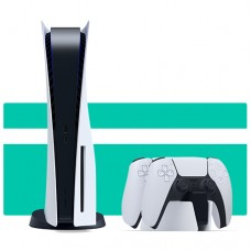 Sony PlayStation 5 + Беспроводной джойстик DualSense + Charging Station