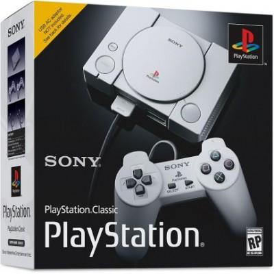 Игровая приставка Sony PlayStation Classic, серый