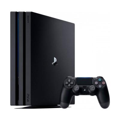Игровая приставка Sony PlayStation 4 Pro 1 ТБ, черный,