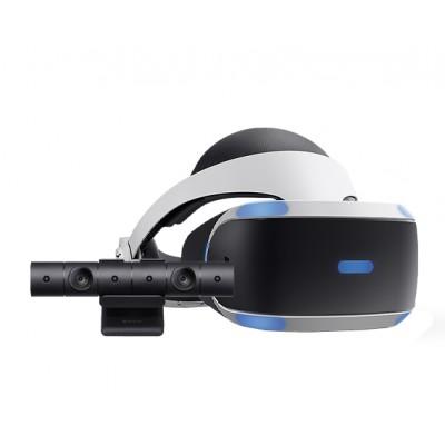 Шлем виртуальной реальности Sony PlayStation VR CUH-ZVR2, черно-белый