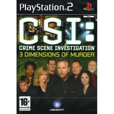 CSI: Crime Scene Investigation: 3 Dimensions of Murder (PS2)