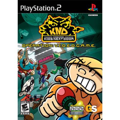 Codename: Kids Next Door Operation V.I.D.E.O.G.A.M.E  (PS2)