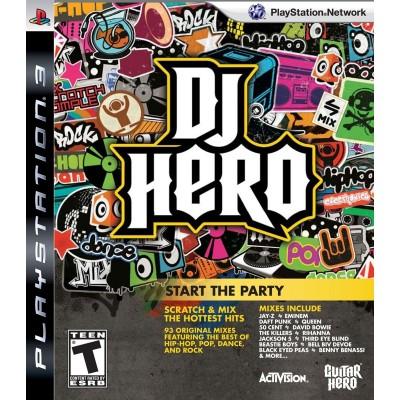 DJ Hero: Start the Party (PS3)
