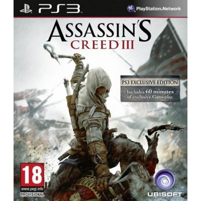 Assassin's Creed 3 (русская версия) (PS3)