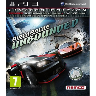 Ridge Racer Unbounded. Limited edition (PS3)