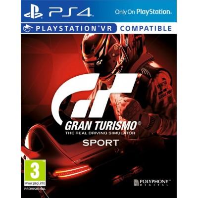 Gran Turismo Sport (с поддержкой PS VR) (русская версия) (PS4)