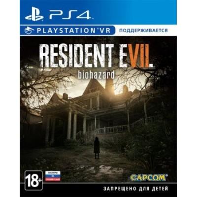 Resident Evil 7: Biohazard (с поддержкой PS VR) (русские субтитры) (PS4)