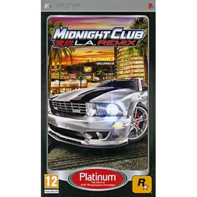 Midnight Club: LA Remix (Platinum) (PSP)