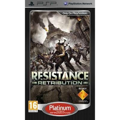 Resistance: Retribution. Platinum (PSP)