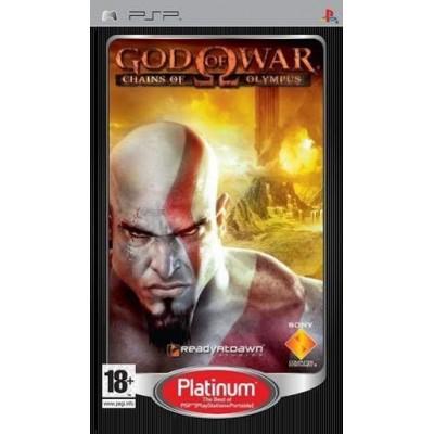 God of War: Chains of Olympus Platinum (PSP)