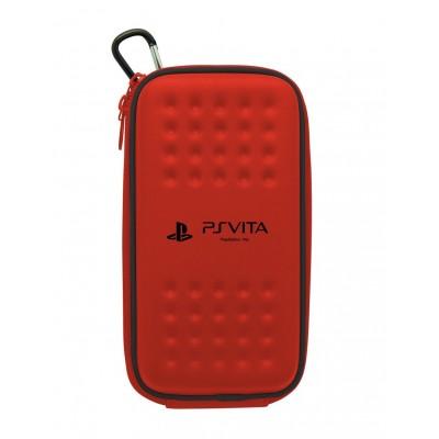 Футляр на молнии Case I Tough Pouch Hori PSV-106 (красный) (PS Vita)
