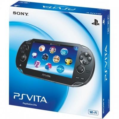 Игровая приставка Sony PlayStation Vita Wi-Fi, черный