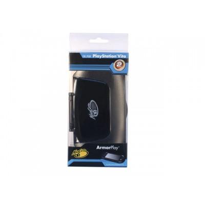 Футляр защитный со съемной задней крышкой черный MadCatz ArmorPlay (PS Vita)