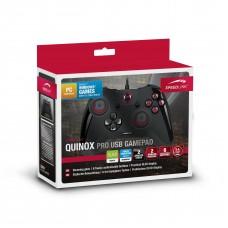 PC Геймпад проводной Speedlink Quinox Pro USB Gamepad, ПК (SL-650005-BK)