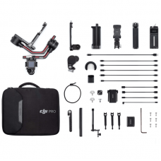 Стабилизатор DJI RS 2 Pro Combo, до 4.5 кг, c Follow Focus и RavenEye