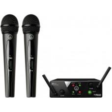 Радиосистема на два микрофона AKG WMS40 Mini2 Vocal Set BD US45A/C