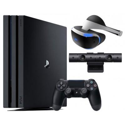 Игровая приставка Sony PlayStation 4 Pro 1 ТБ VR set