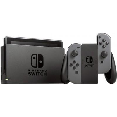 Игровая приставка Nintendo Switch rev.2 32 ГБ, серый,