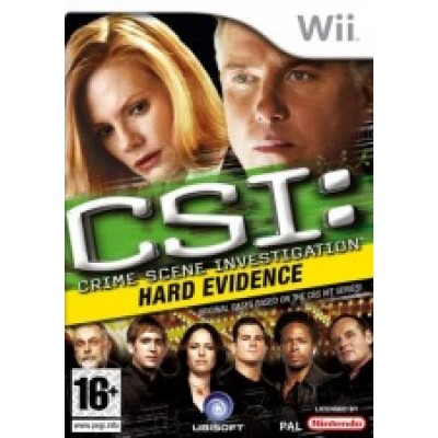 CSI 4: Crime Scene Investigation: Hard Evidence Рус. док. (Wii)