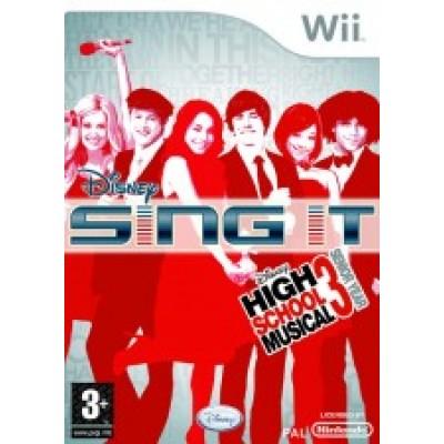 Disney HSM3 Sing It (Wii)