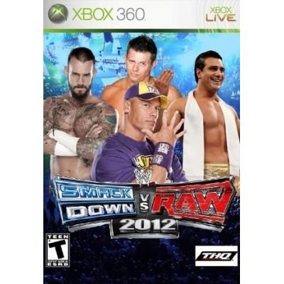 WWE SmackDown vs. RAW 2012 (Xbox 360)