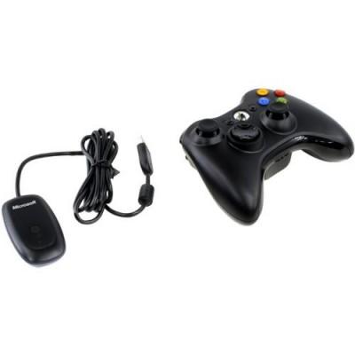 Джойстик беспроводной Wireless Controller + Ресивер для PC  (Xbox 360)