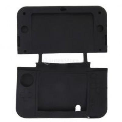 Чехол силиконовый черный для New Nintendo 3DS XL