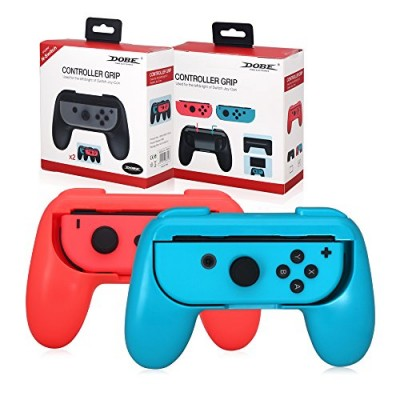Рукаятки Grips for Controller Blue+Red (2 шт) (OIVO IV-SW038) (Switch)