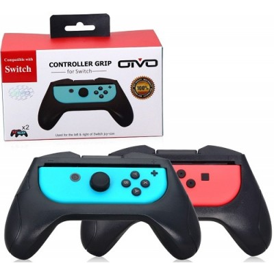Рукаятки Grips for Controller Black (2 шт) (OIVO IV-SW038) (Switch)