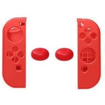 Силиконовый чехол с насадками Grip Protection Kit IX-SW011 красный (Switch)