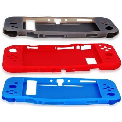 Силиконовый чехол Silicon Case для Nintendo Switch (OIVO IV-SW031 чёрный)
