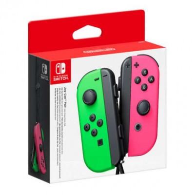 Геймпад Nintendo Switch Joy-Con controllers Duo, зеленый/розовый
