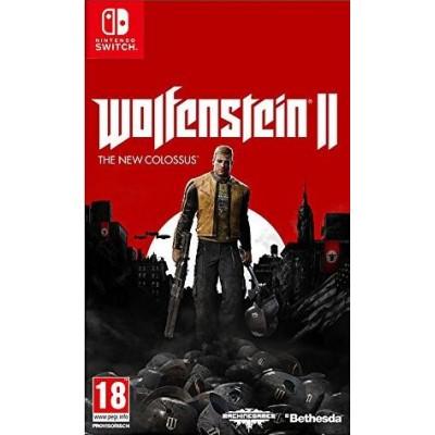 Wolfenstein 2: The New Colossus (русская версия) (Nintendo Switch)