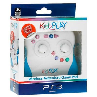 Контроллер Kidz Play Adventure для PS3 (голубой)