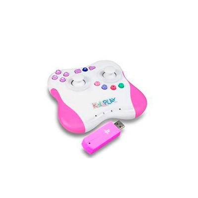Контроллер Kidz Play Adventure для PS3 (розовый)