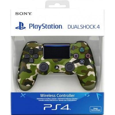 Геймпад Sony DualShock 4 v2 CUH-ZCT2E, зеленый камуфляж