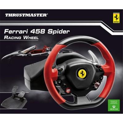 Руль Thrustmaster Ferrari 458 Spider Racing Wheel, черный/красный
