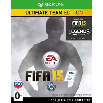 Fifa 15. Ultimate Edition (русская версия) (Xbox One/Series X)