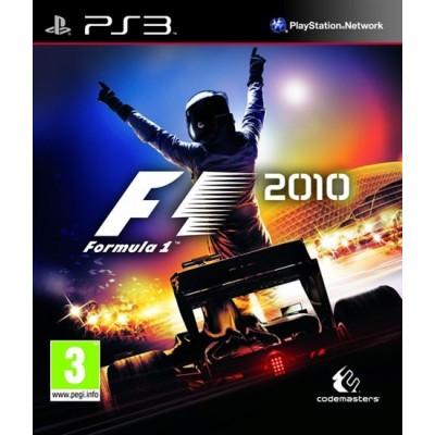Игра для PlayStation 3 F1 2010, полностью на русском языке