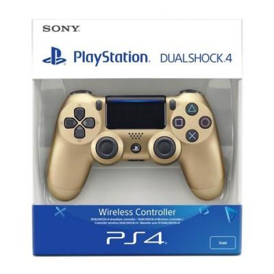 Геймпад Sony DualShock 4 v2 CUH-ZCT2E, золотой
