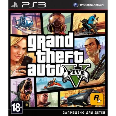 GTA: Grand Theft Auto 5 (русские субтитры) (PS3)