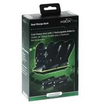 Зарядная станция + 2 аккумулятора DreamGear DGXB1-6603 (Xbox One)